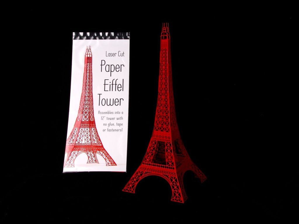 Laser Cut Eiffel Tower's video poster