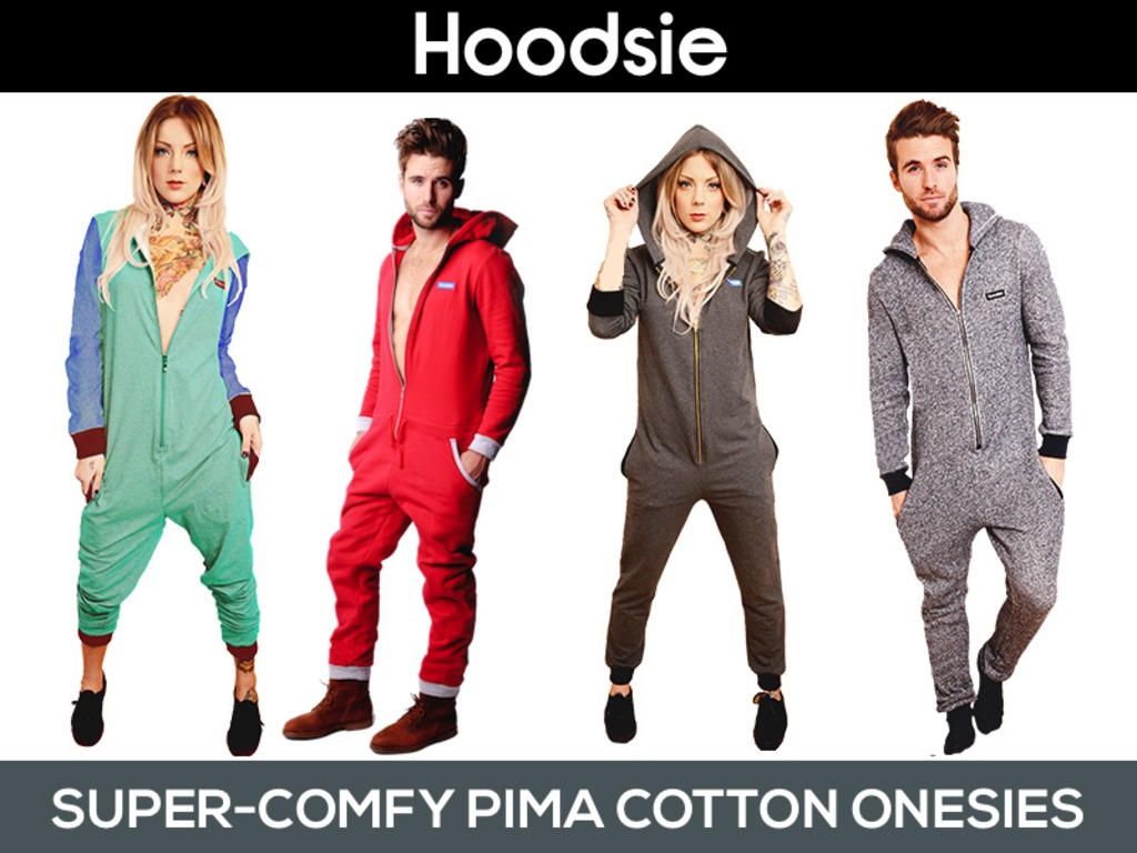 Hoodsie: Super Comfortable Pima Cotton Onesies For Adults's video poster
