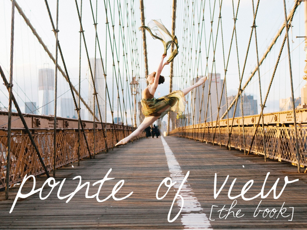 Pointe of View ballerina book's video poster