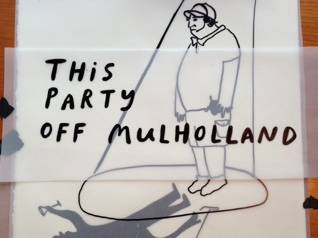 This Party Off Mulholland's video poster