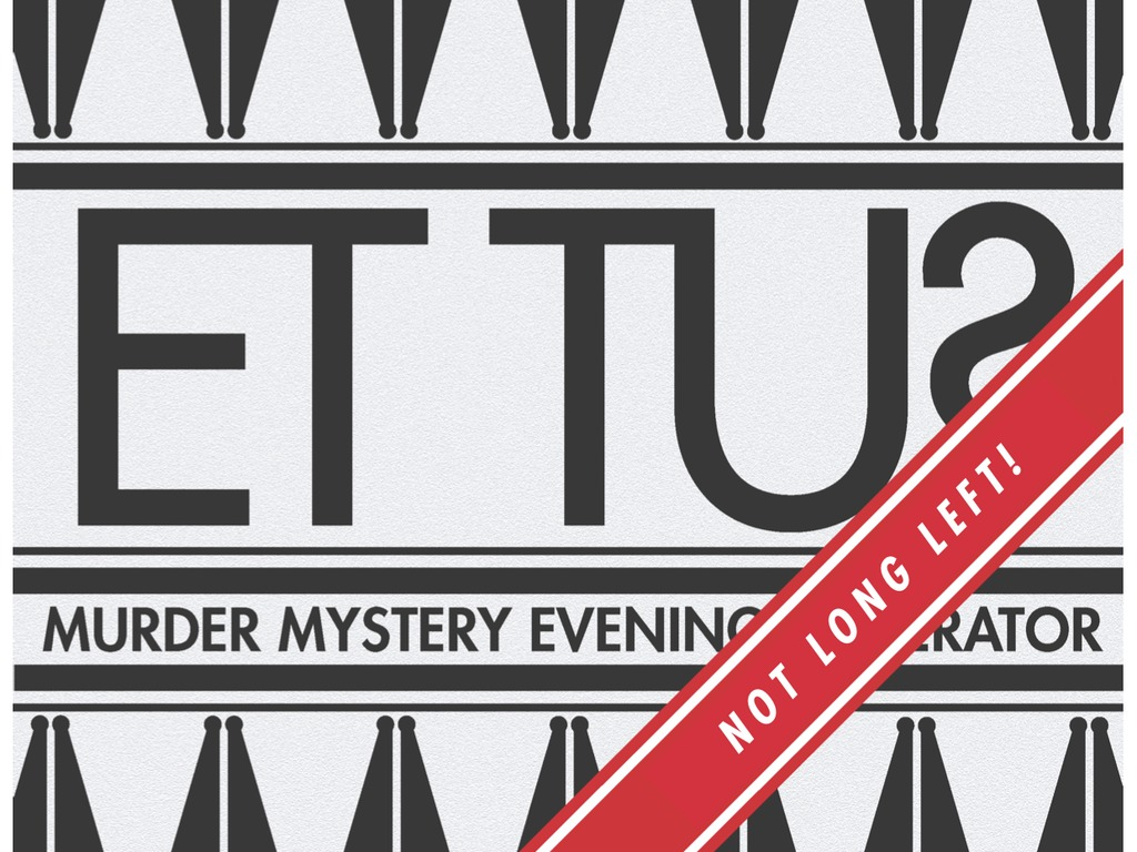 Et Tu? The Murder Mystery Evening Generator's video poster