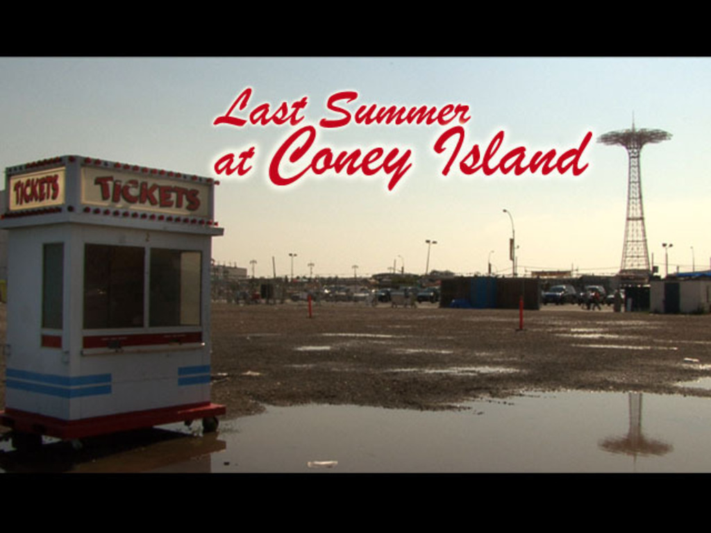 Last Summer at Coney Island (documentary) 2's video poster
