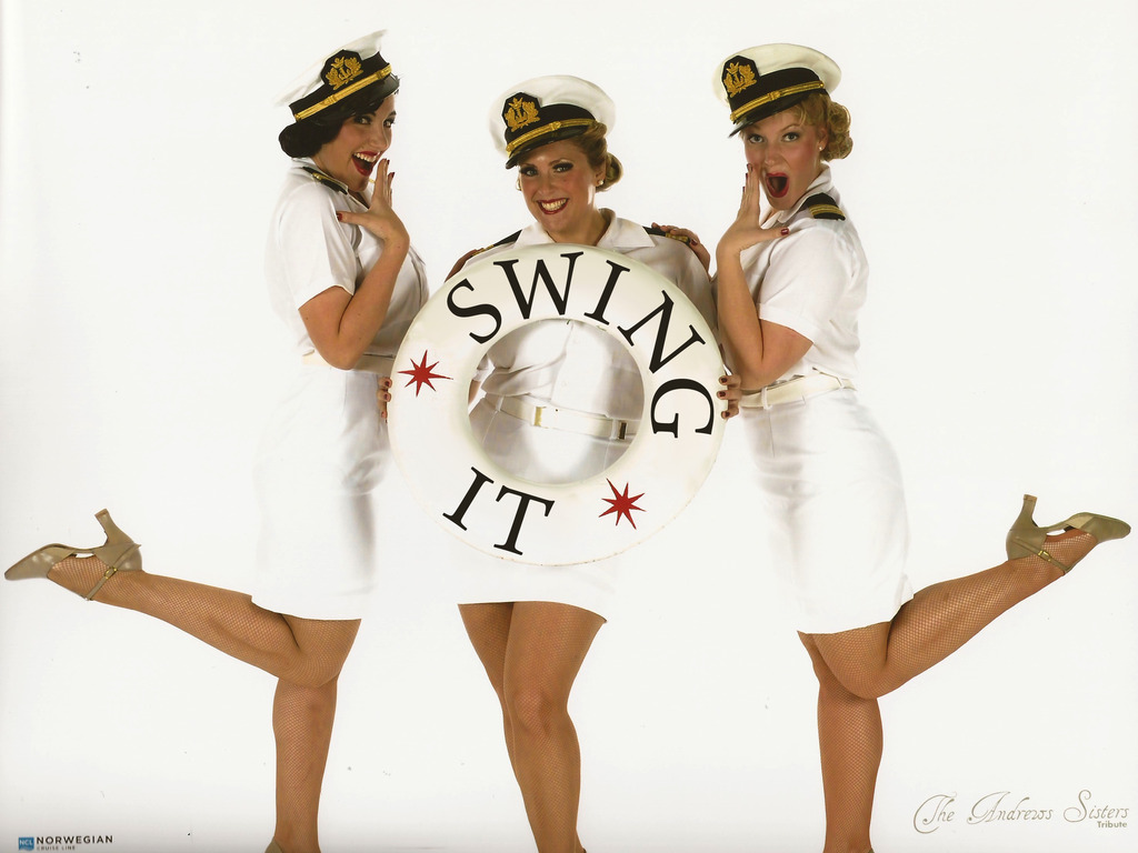 """""""Swing It! Songs of the Andrews Sisters"""" Hits the High Seas!'s video poster"""
