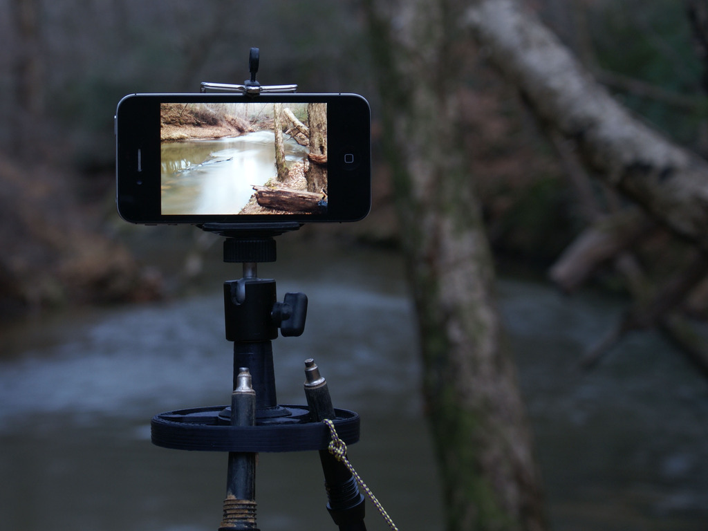 Polepod uses the poles you already have to make a tripod's video poster