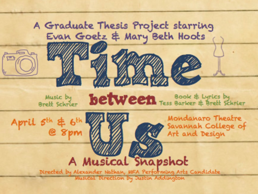Time Between Us: A Musical Snapshot -  A Grad Thesis Project's video poster