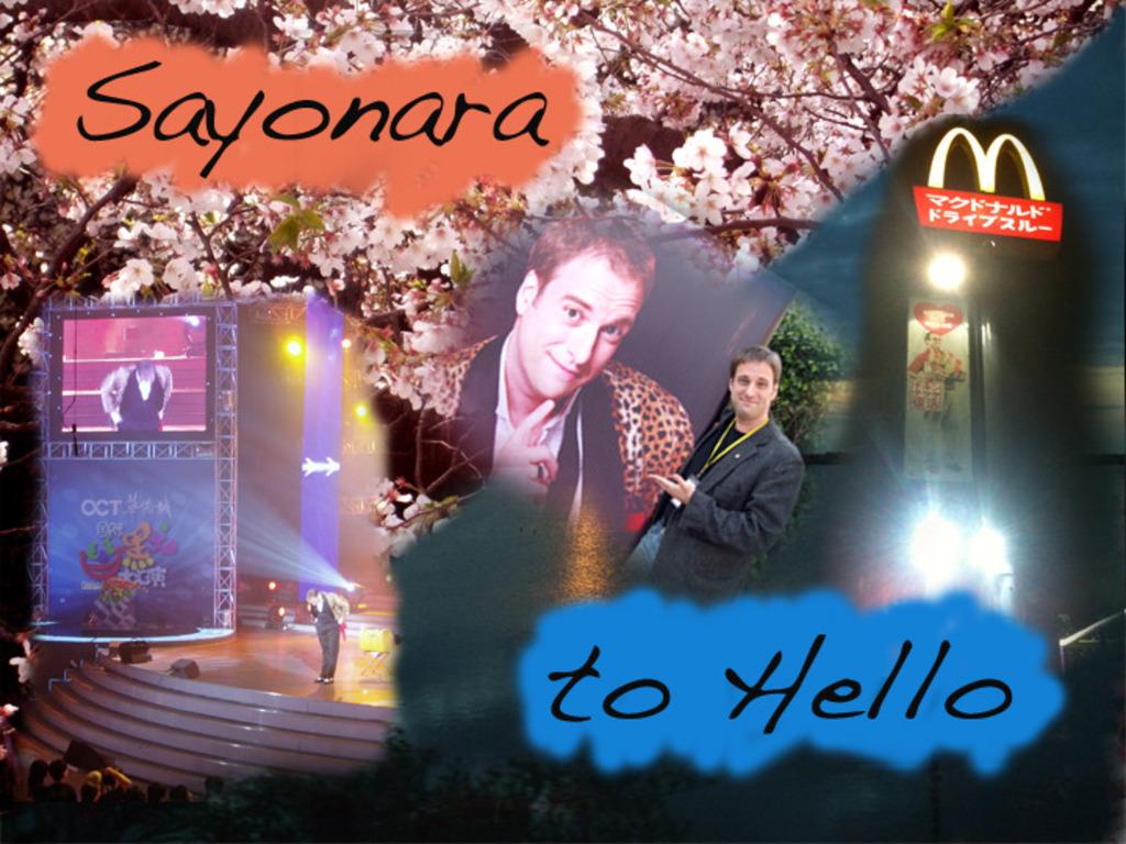 Sayonara to Hello's video poster