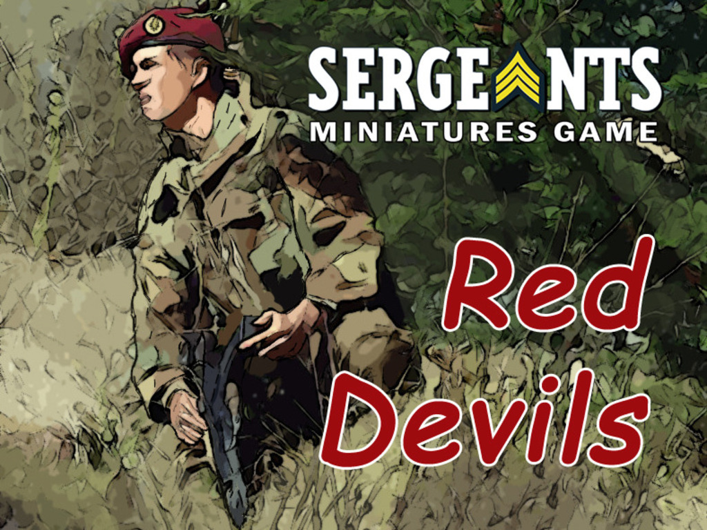 Sergeants Miniatures Game: Red Devils's video poster