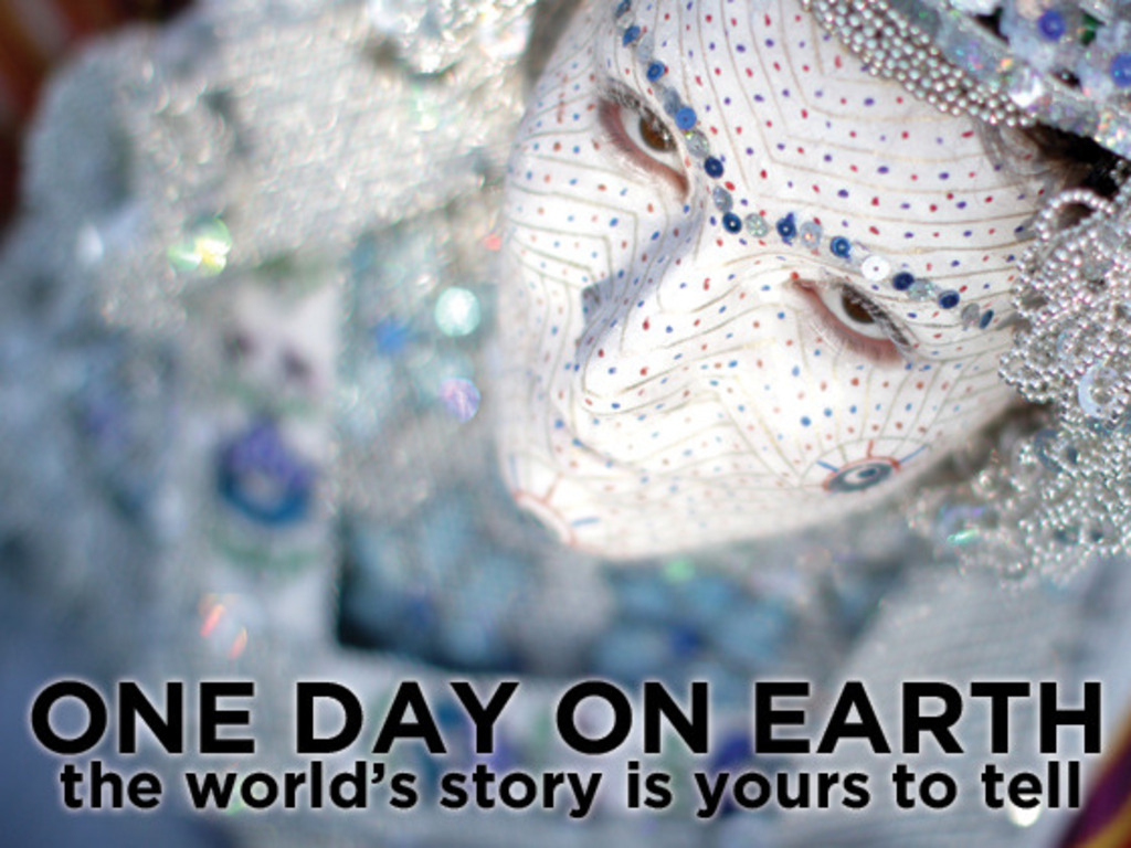 One Day on Earth - filmed in every nation in one day's video poster