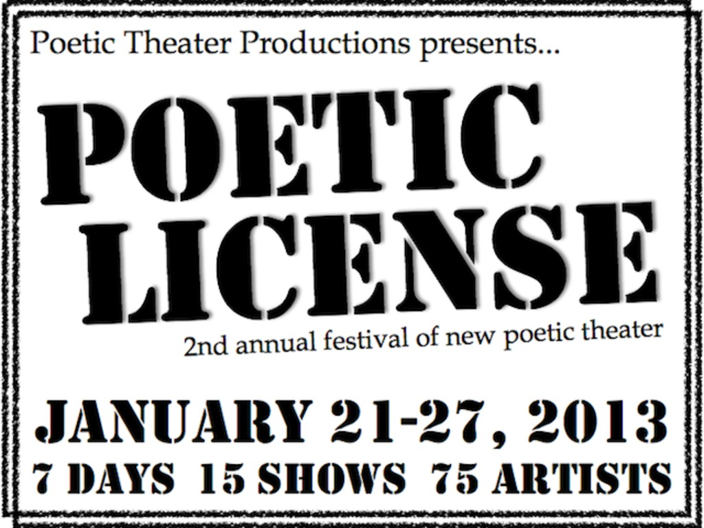 Poetic License 2013's video poster