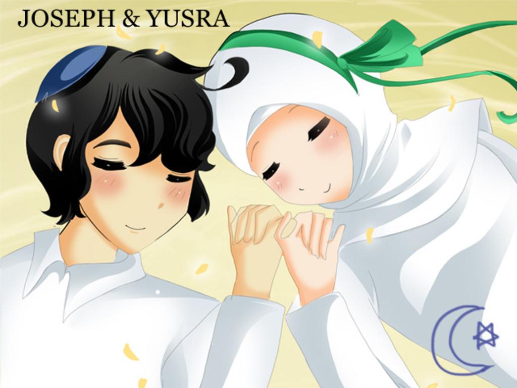 Joseph & Yusra the comic's video poster