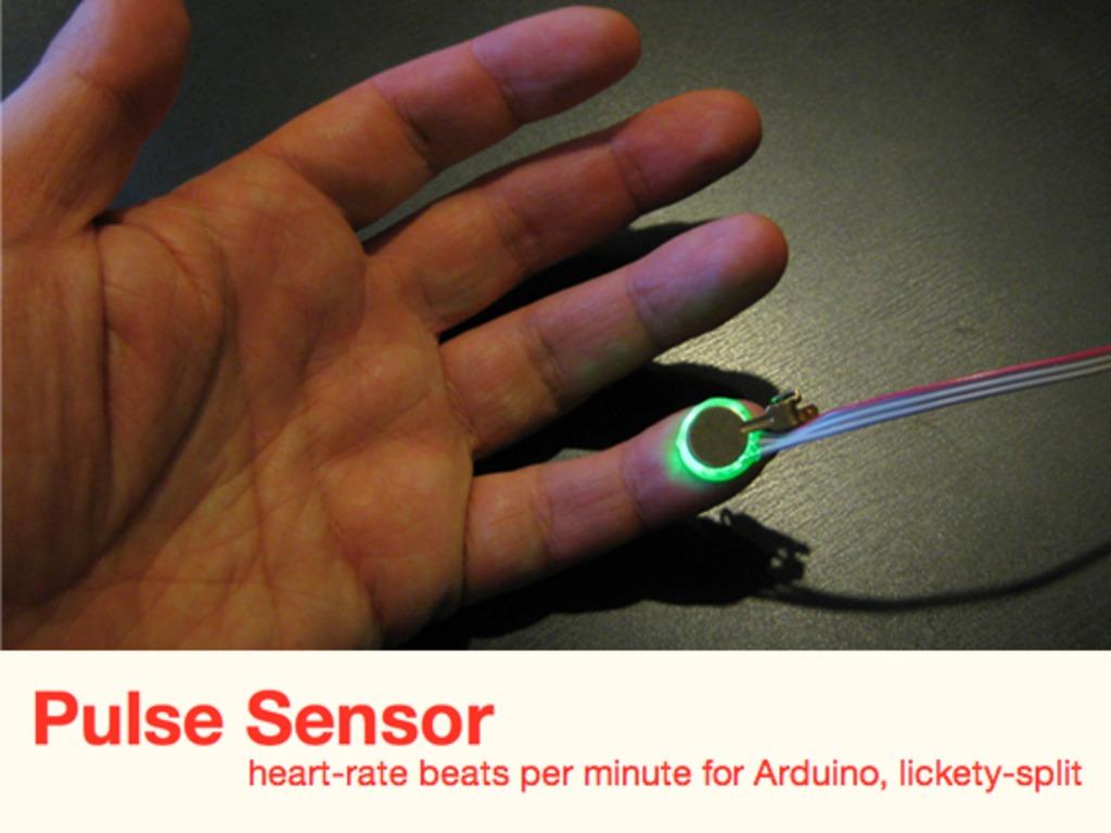 Pulse Sensor:  an Open Source Heart-rate Sensor that Rocks's video poster