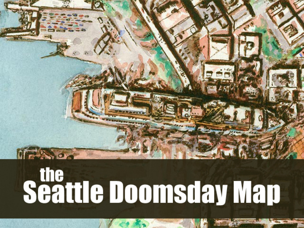 Seattle Doomsday Map's video poster