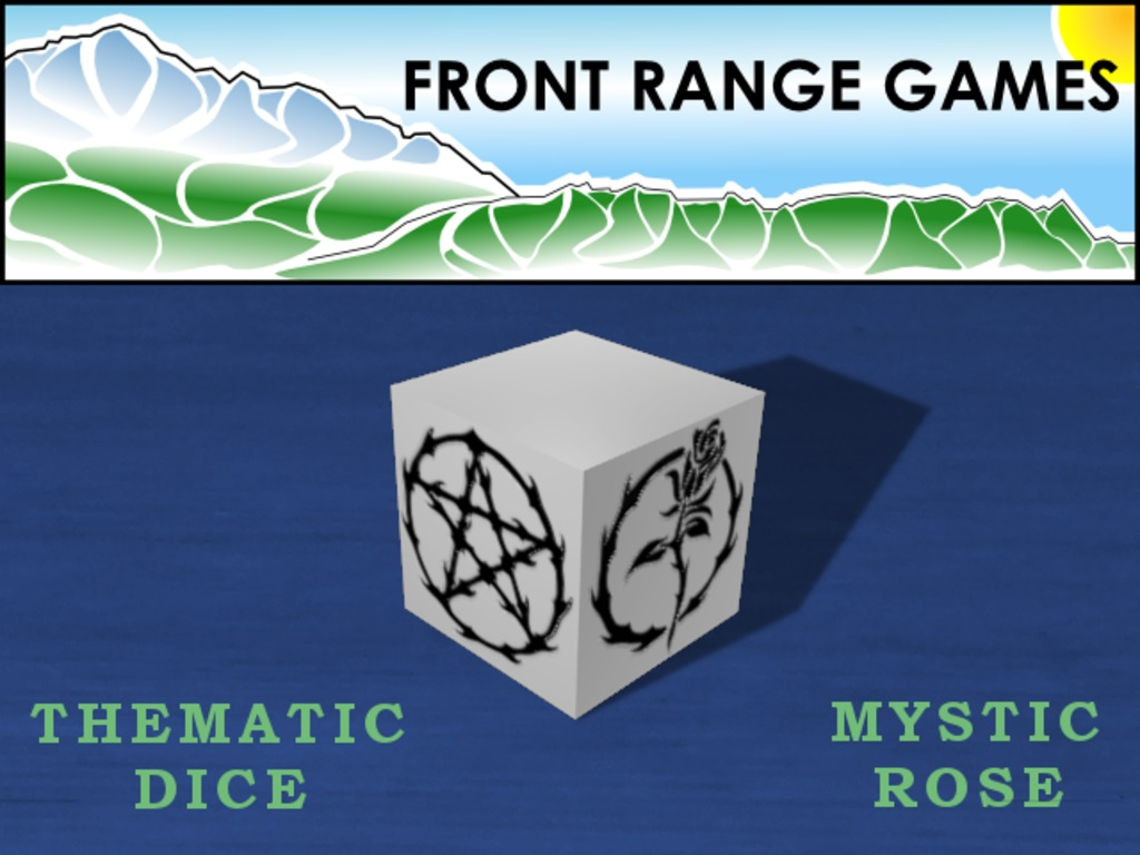 Thematic Fate/Fudge Dice - Mystic Rose's video poster