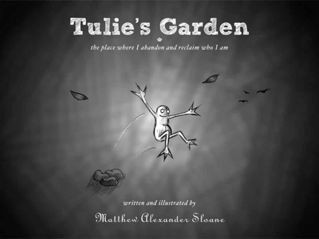 Tulie's Garden: the book's video poster