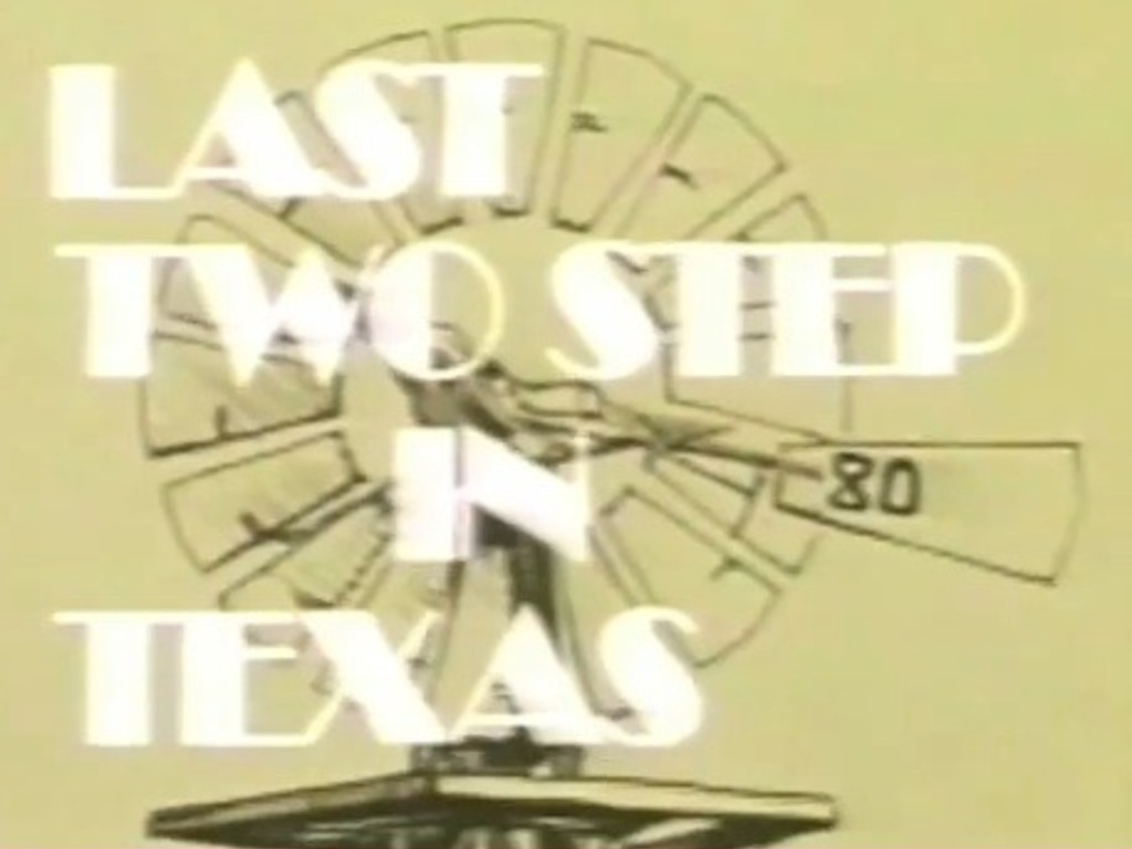 Last Two-Step in Texas's video poster