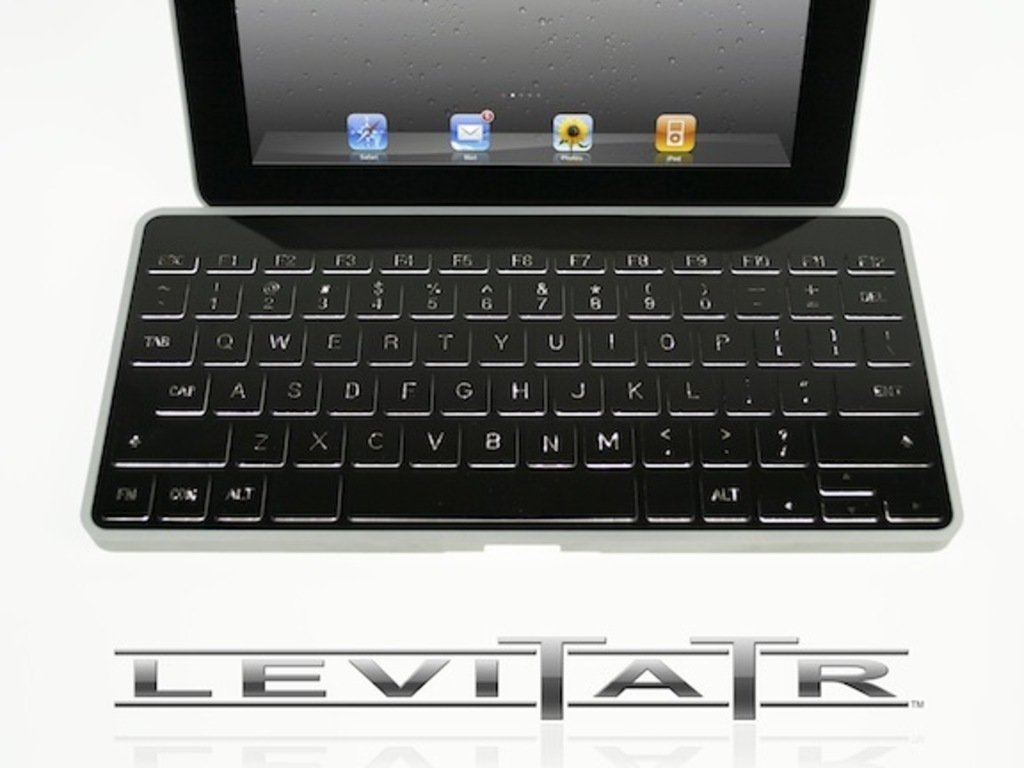 Levitatr: A keyboard with elevating keys for iPad, Tablets's video poster