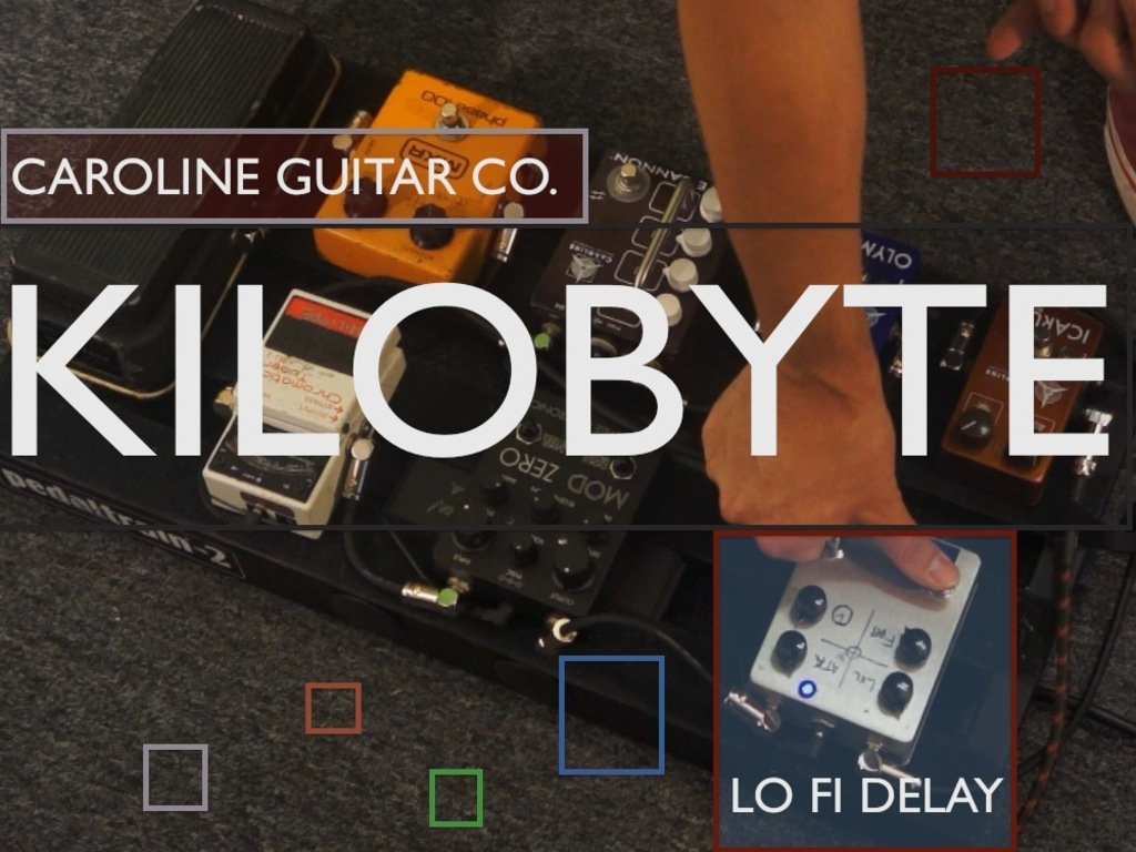 We want the Caroline Kilobyte delay pedal!'s video poster