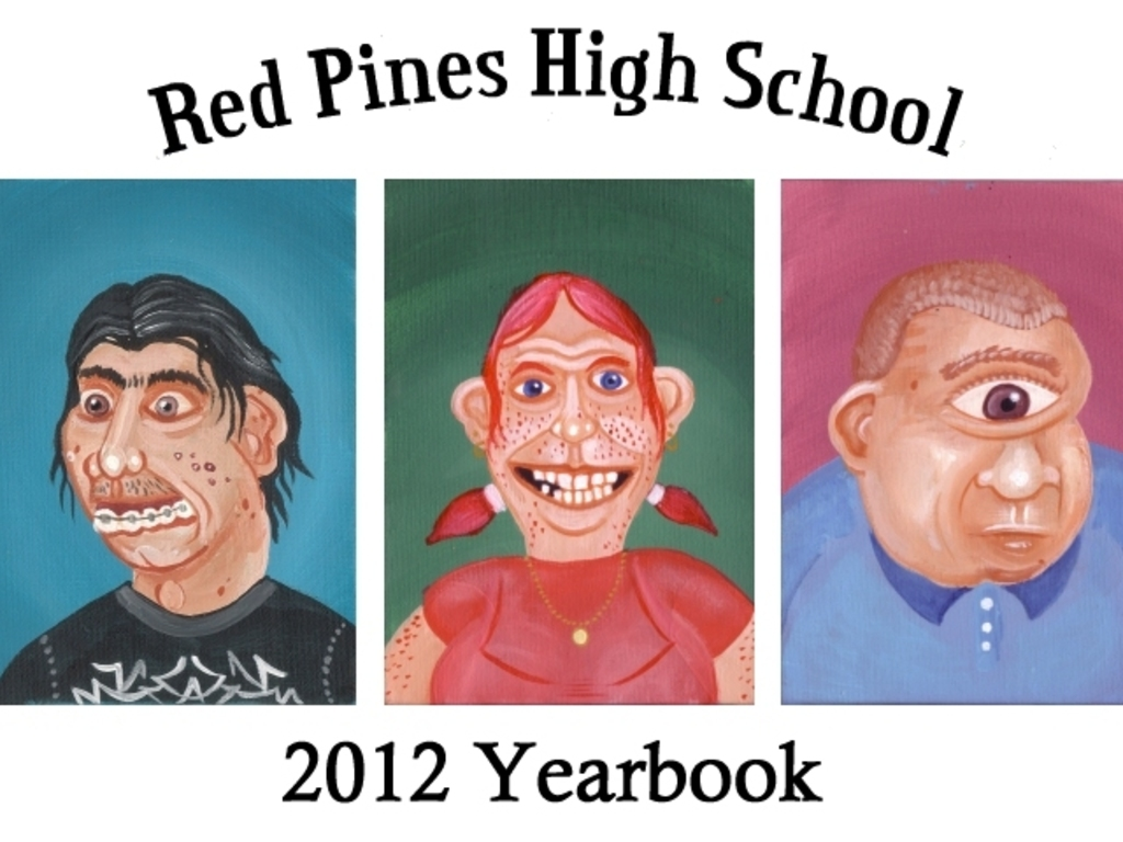 The Red Pines 2012 High School Yearbook's video poster