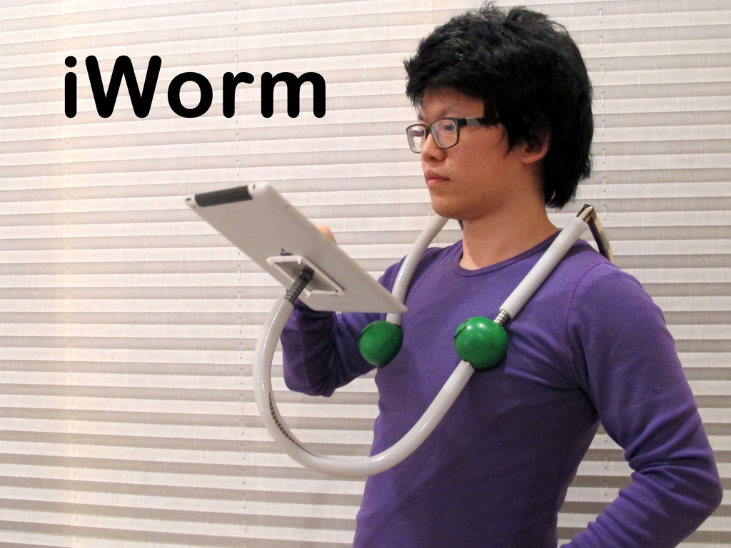 iWorm: Posture perfect iPad use (Canceled)'s video poster