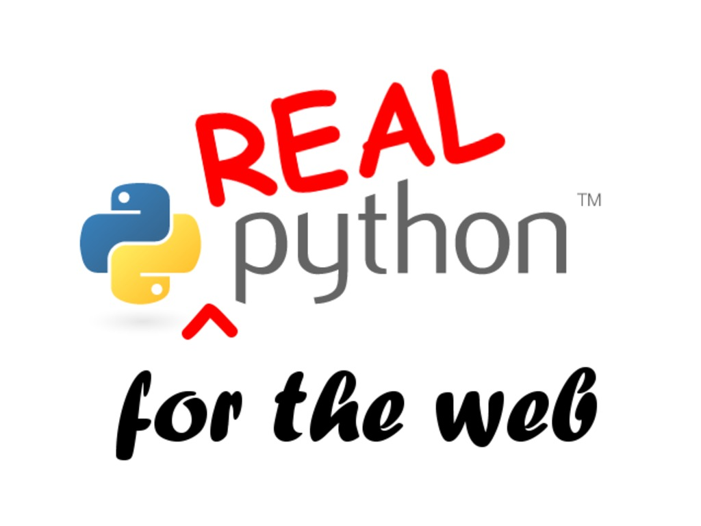 Real Python for Web Development, featuring web2py's video poster