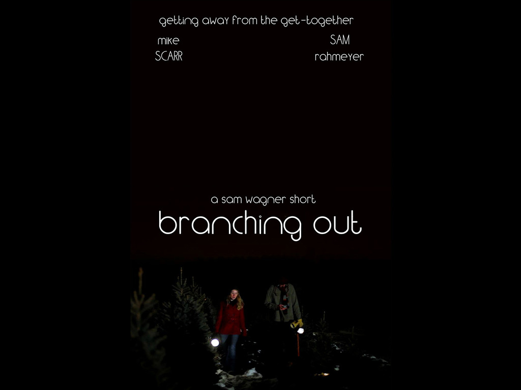 """Branching Out,"" a Romantic Short Film's video poster"