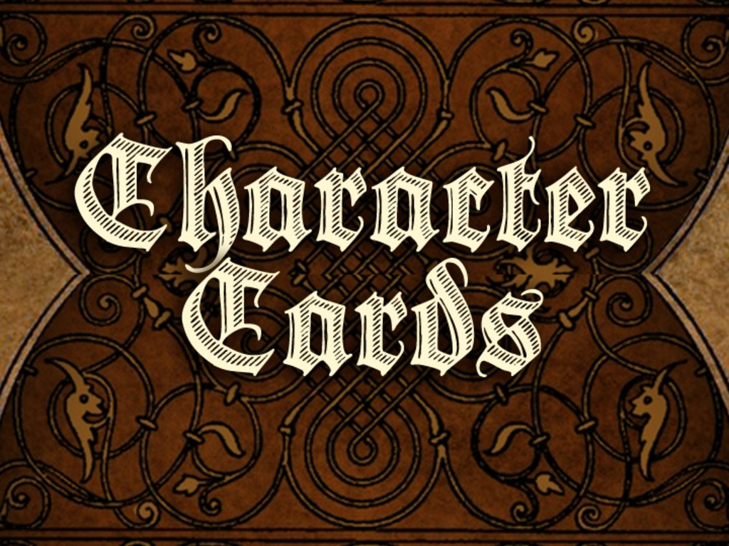 Character Cards - Instant NPC Just Add Water's video poster
