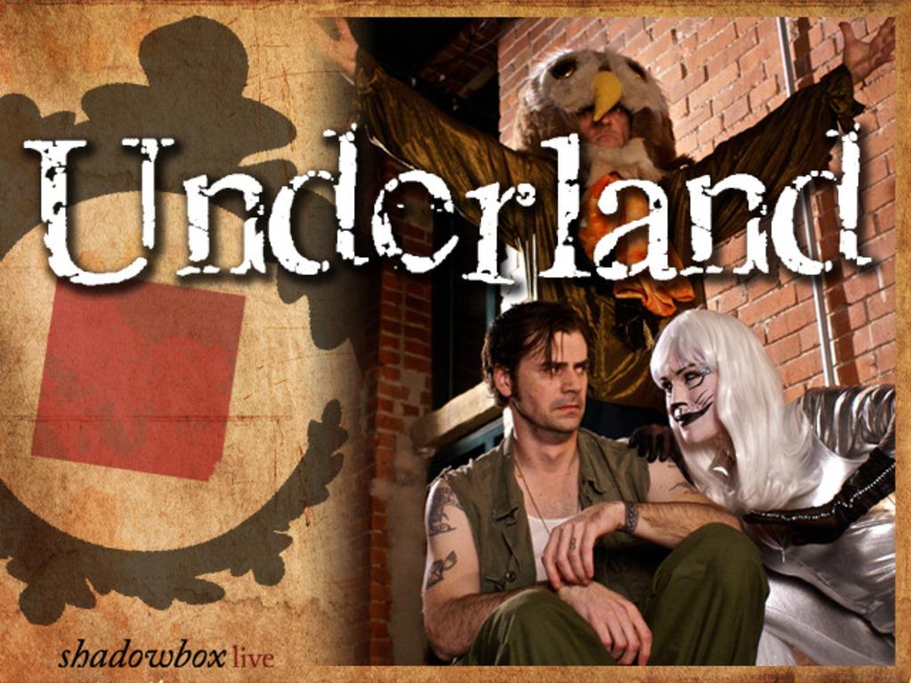 Underland - A Mindbending, New Rock & Roll Musical's video poster