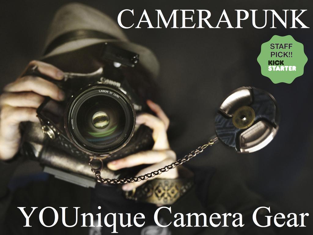 CameraPunk™ - YOUnique Camera Accessories!!'s video poster