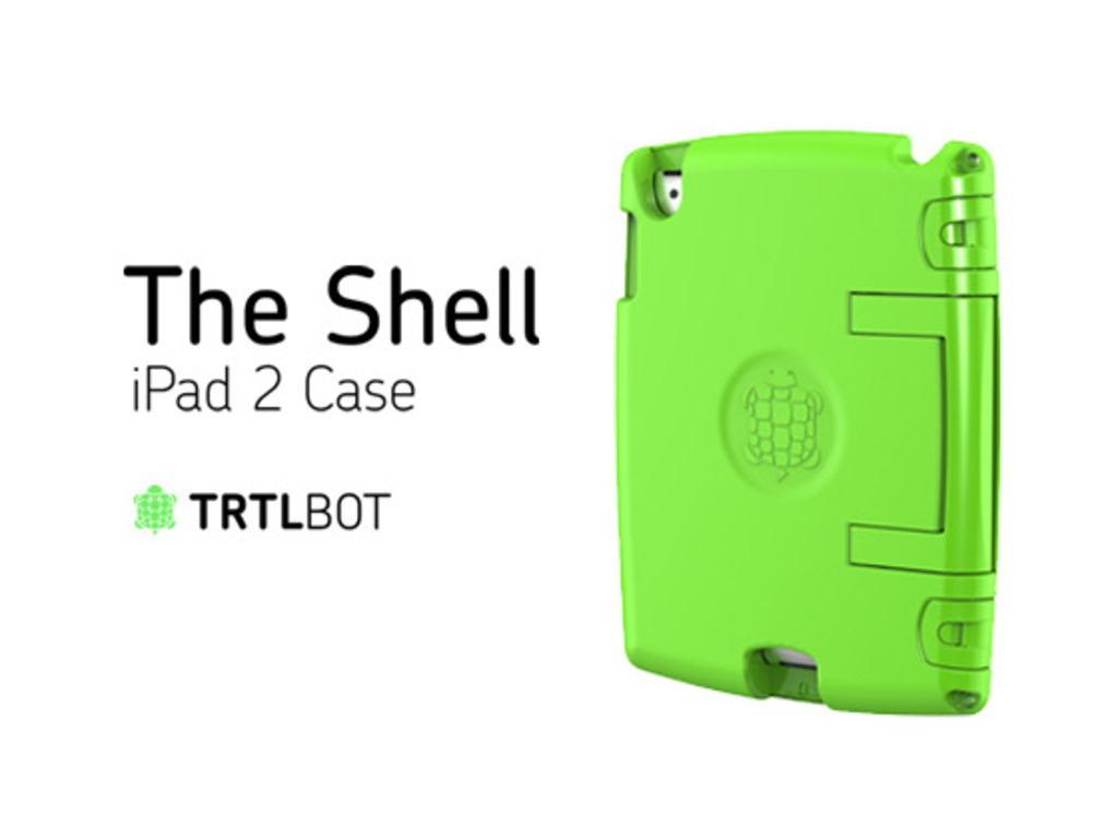 The Shell, An Eco-Functional iPad 2 Case's video poster