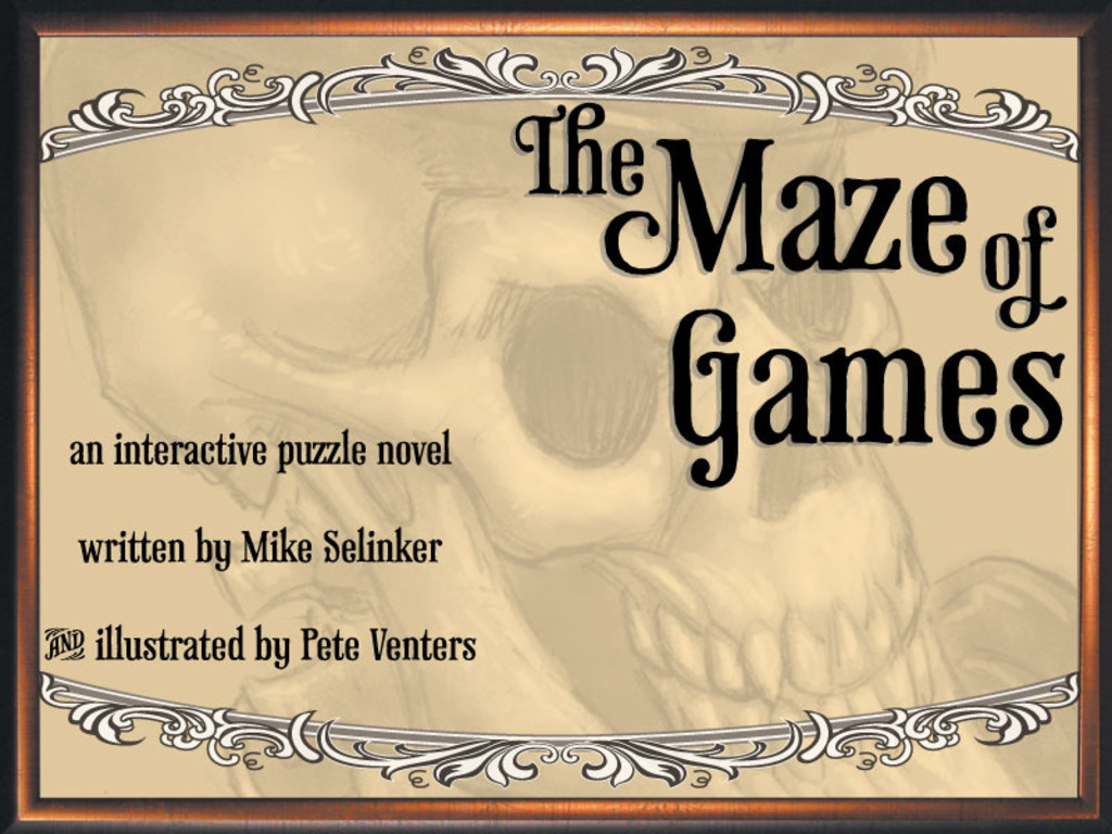 The Maze of Games: An Interactive Puzzle Novel's video poster