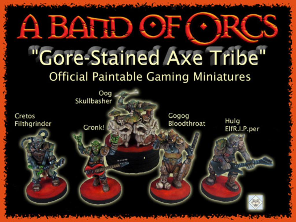 A Band of Orcs Official Gaming Miniatures Presale's video poster