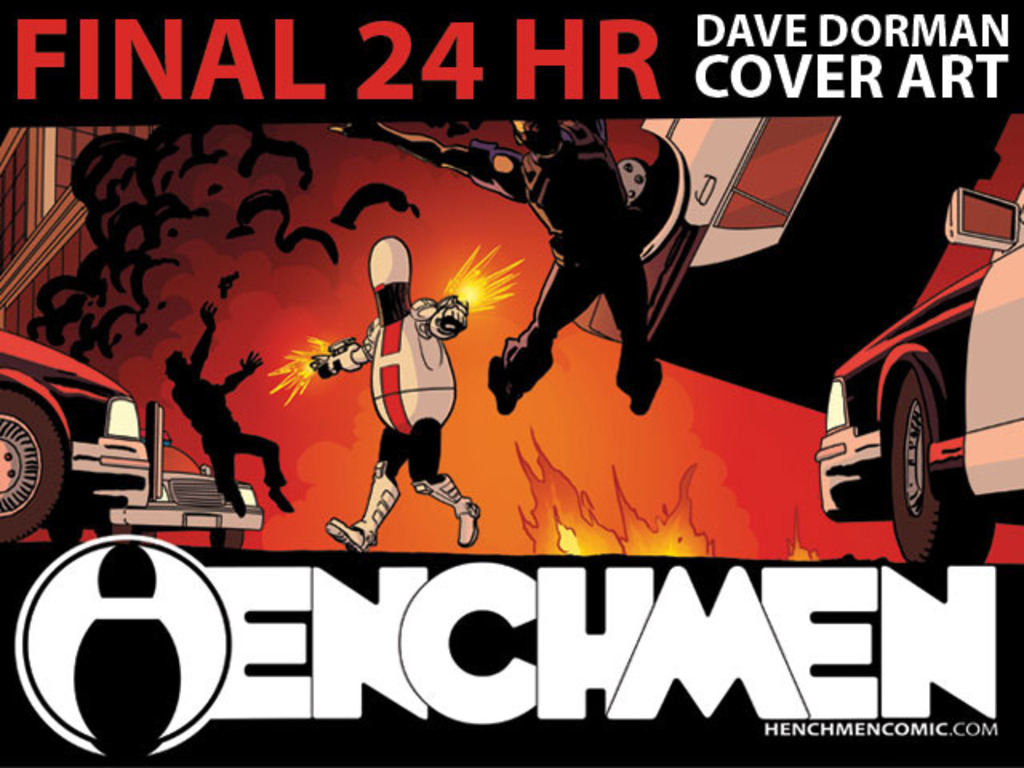 Henchmen: A Comic by J. Raymond w/ Dave Dorman Cover's video poster
