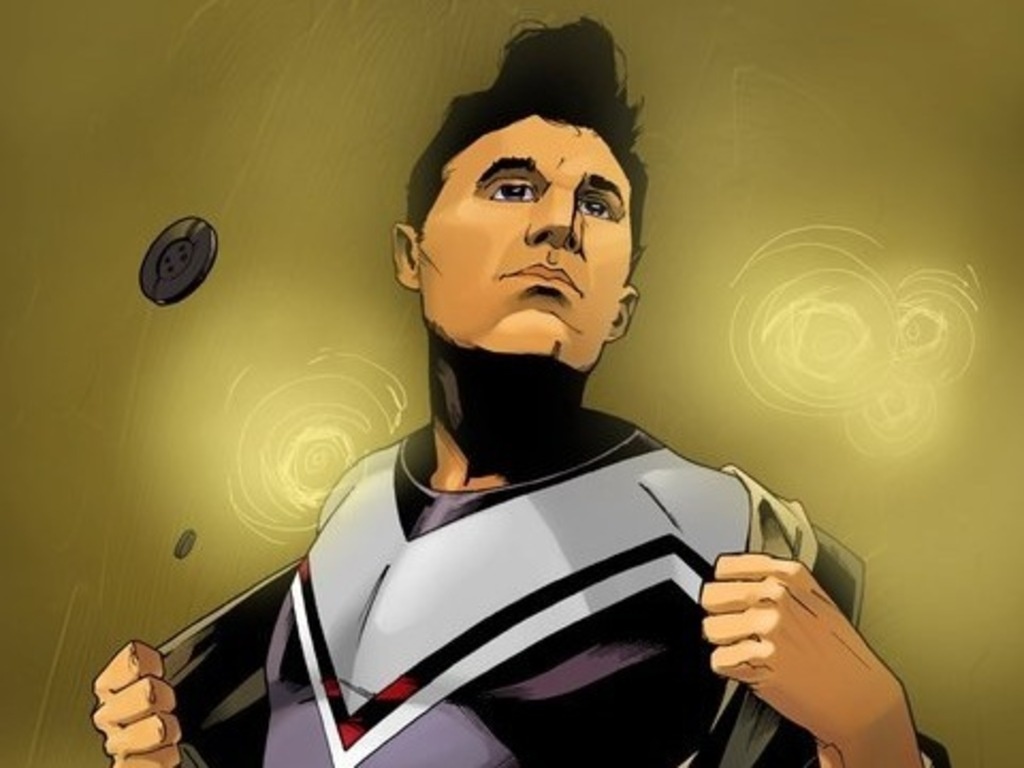 Unite and Take Over: comic stories inspired by the Smiths's video poster