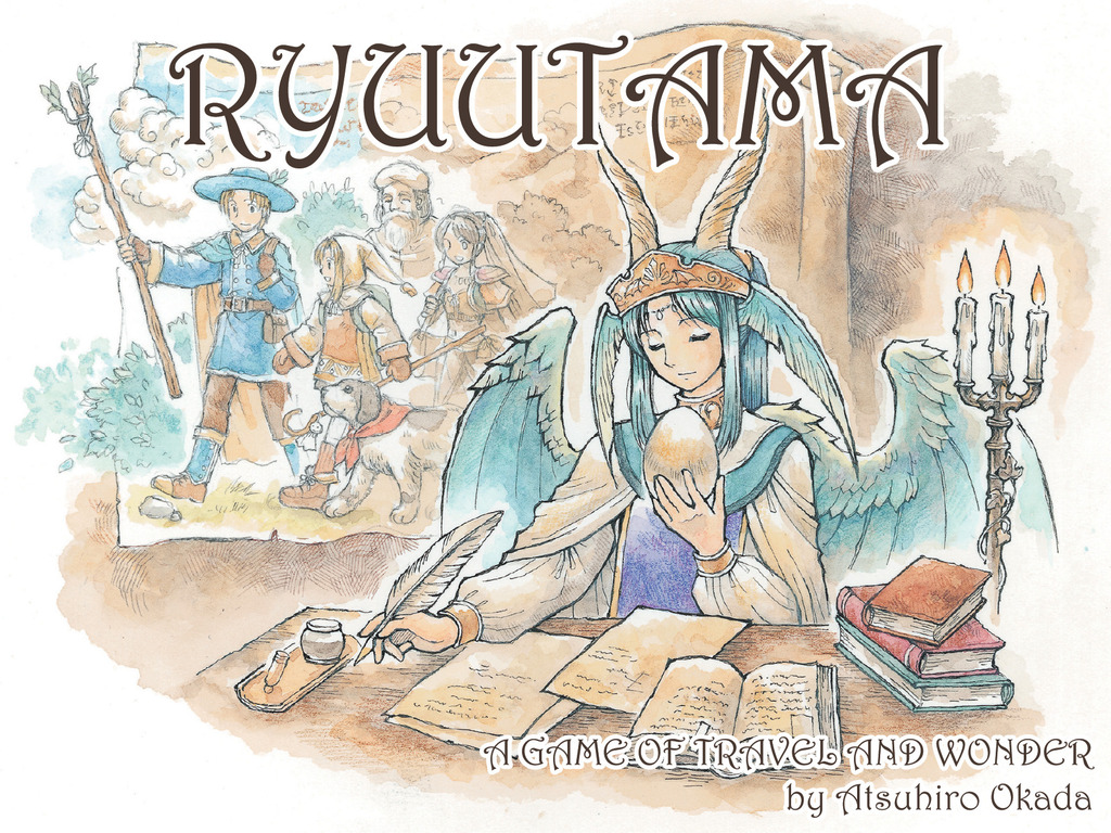 Ryuutama - Natural Fantasy Role-Playing Game's video poster