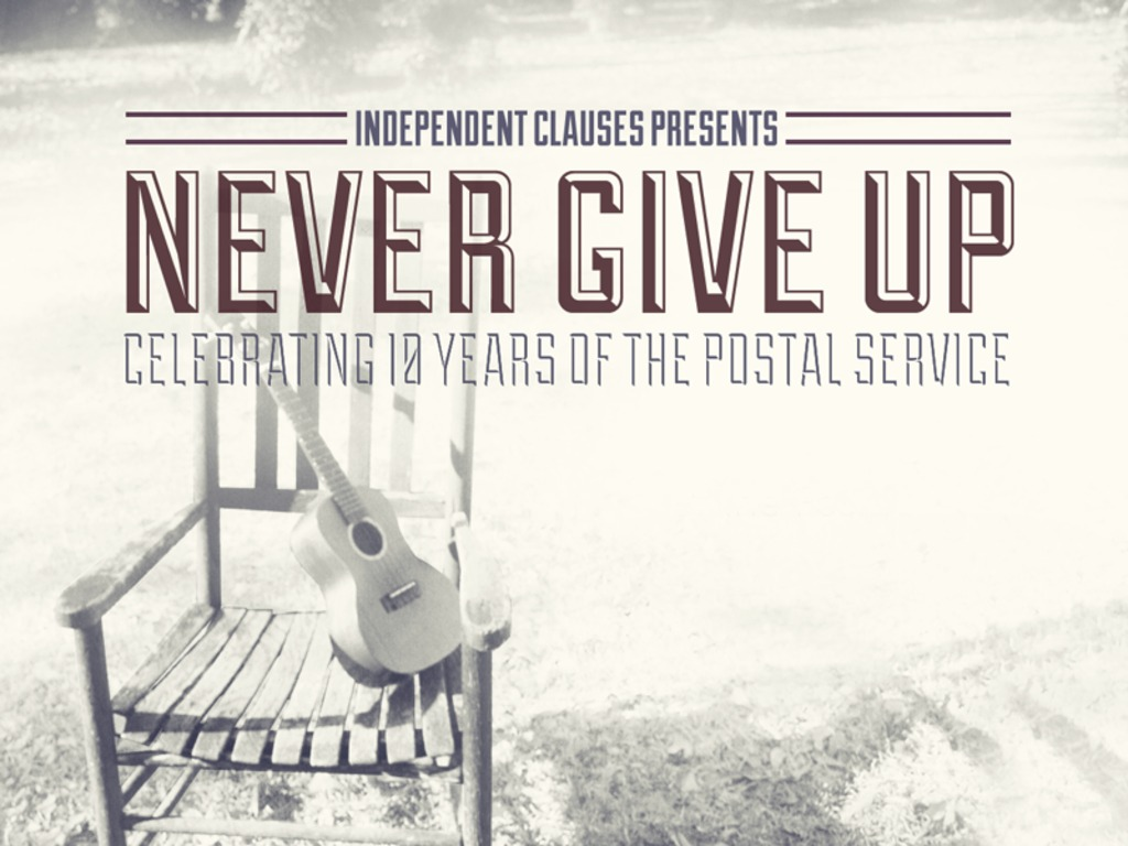 Never Give Up: Celebrating 10 Years of The Postal Service's video poster