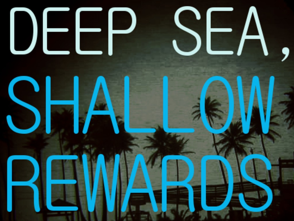 Deep Sea, Shallow Rewards's video poster