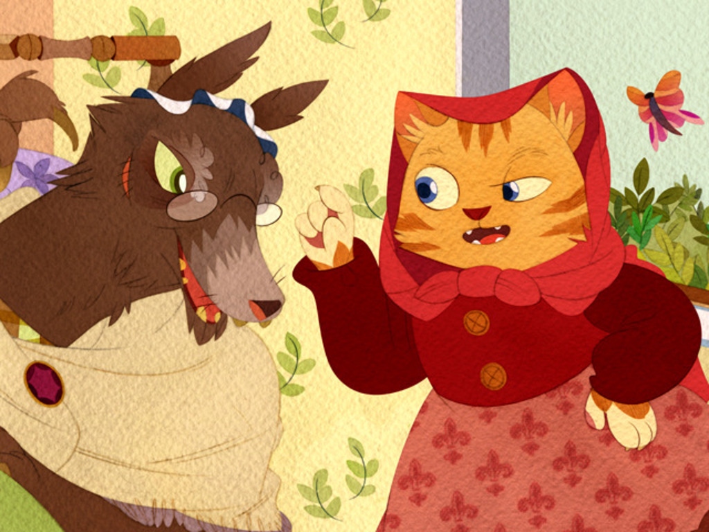 LITTLE RED! Bilingual story app teaches language & literacy's video poster