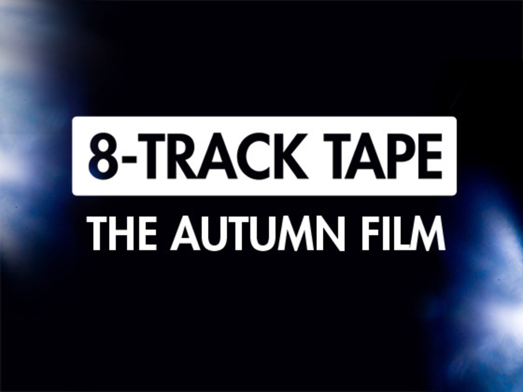 8-Track Tape: A new album by indie-pop trio, The Autumn Film's video poster