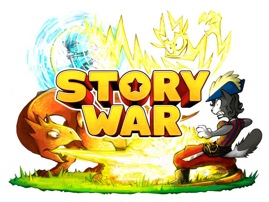 STORY WAR : The Storytelling Party Game's video poster