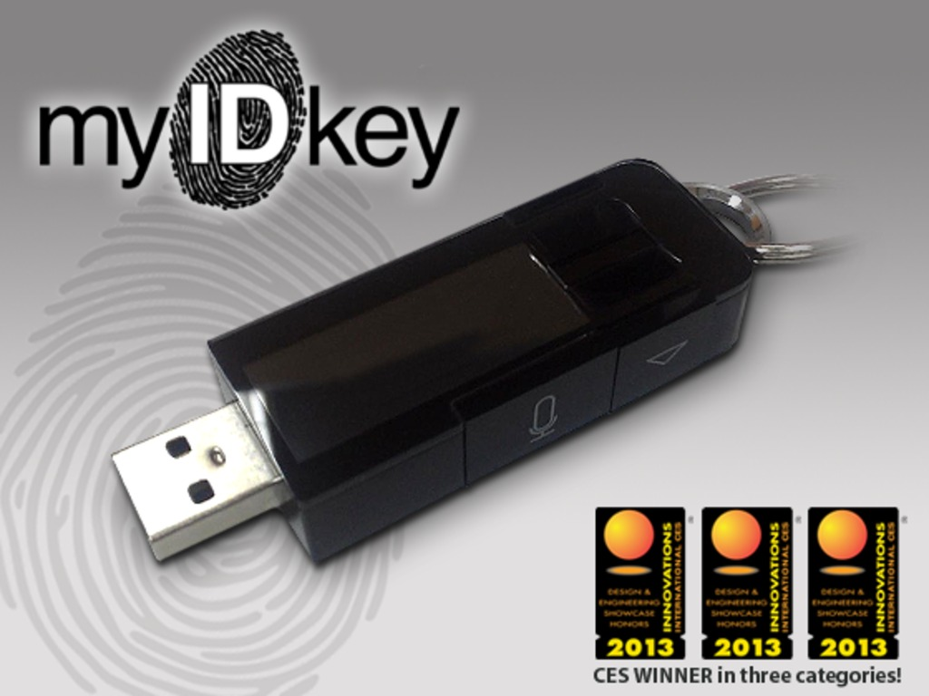 myIDkey: Passwords at the tip of your finger's video poster