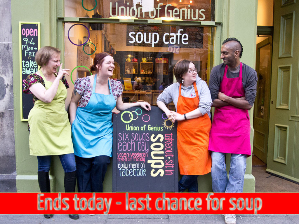 Union of Genius: because we all need soup's video poster