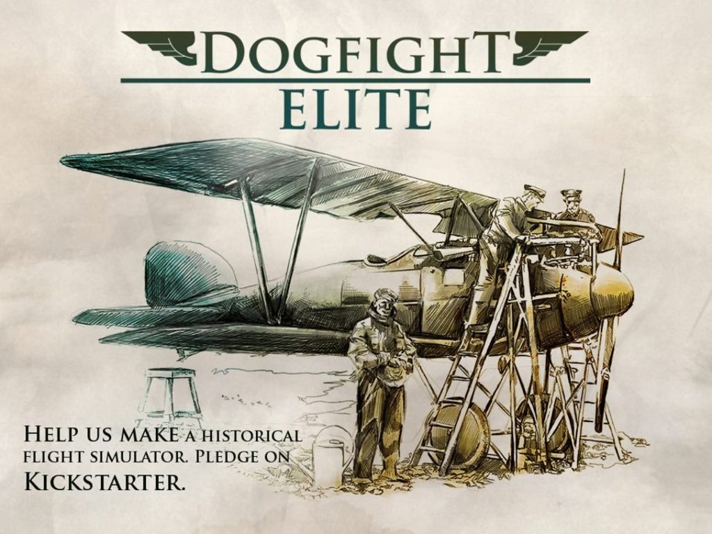 Dogfight Elite: A historical MMO flight simulator's video poster