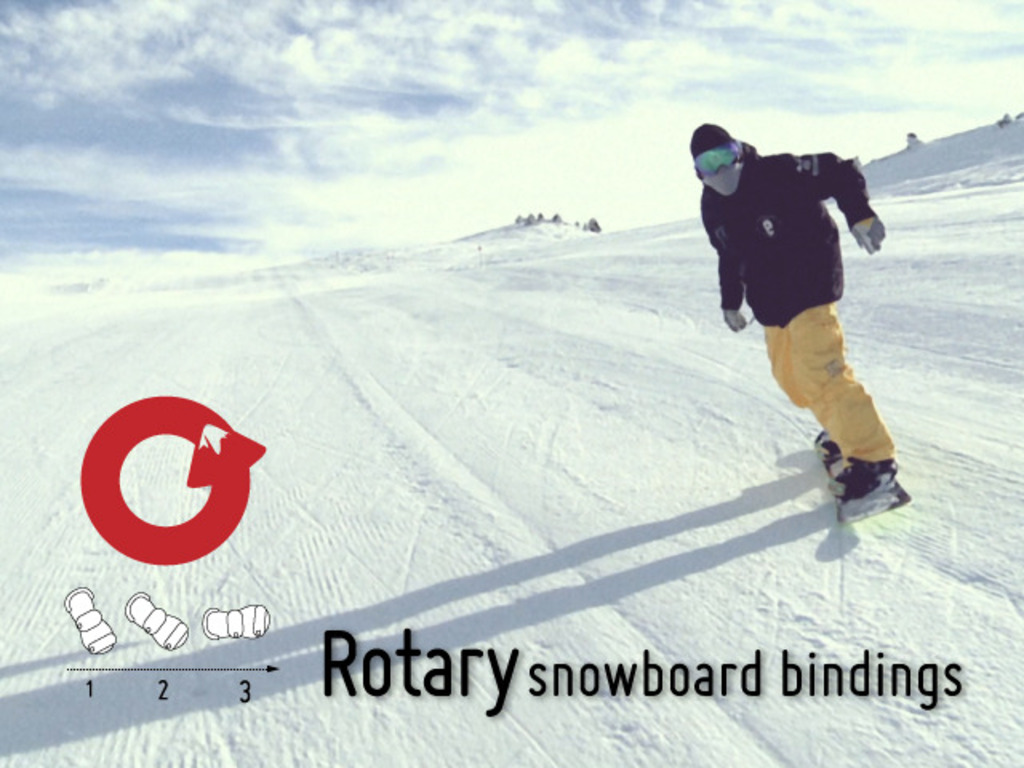 Revolutionary Snowboard Bindings from Rotary's video poster