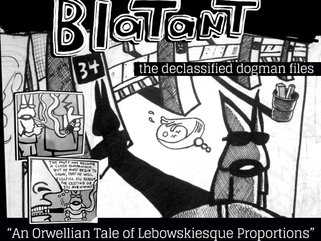 Blatant: The Declassified Dogman Files's video poster