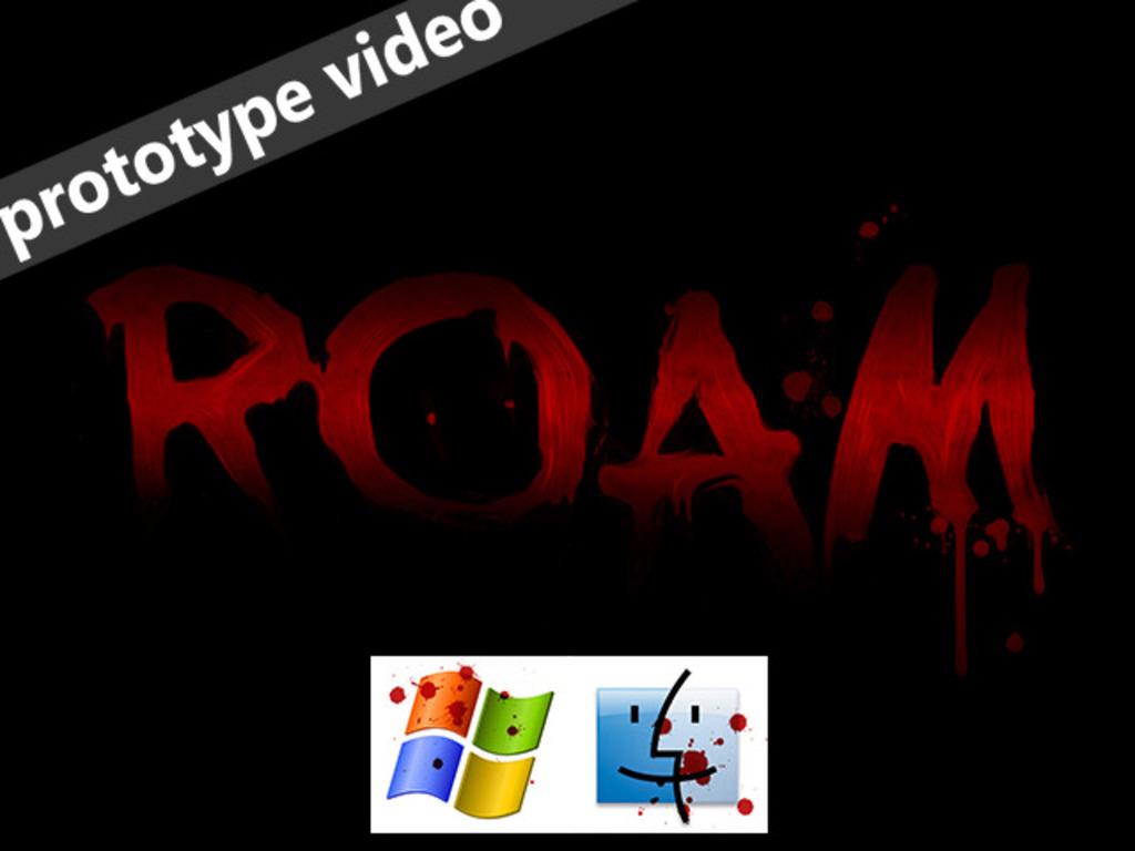 ROAM's video poster