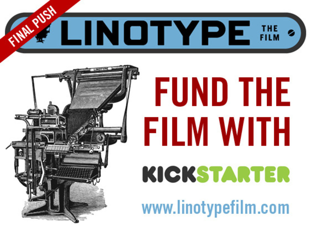 Linotype: The Film - Final Push's video poster
