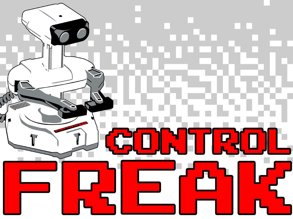 CONTROL FREAK - A New Poster for the Classic Gaming Fan's video poster