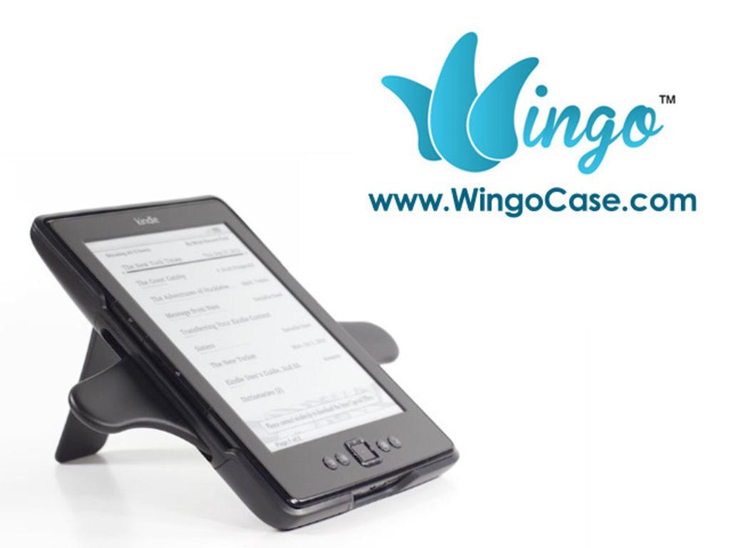 Wingo Case for Kindle E-Readers: Advanced Ergonomic Design's video poster