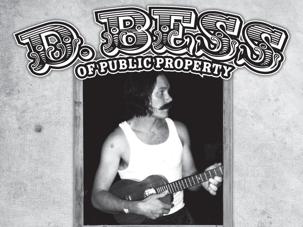 Man vs. Bear: D. Bess solo album's video poster