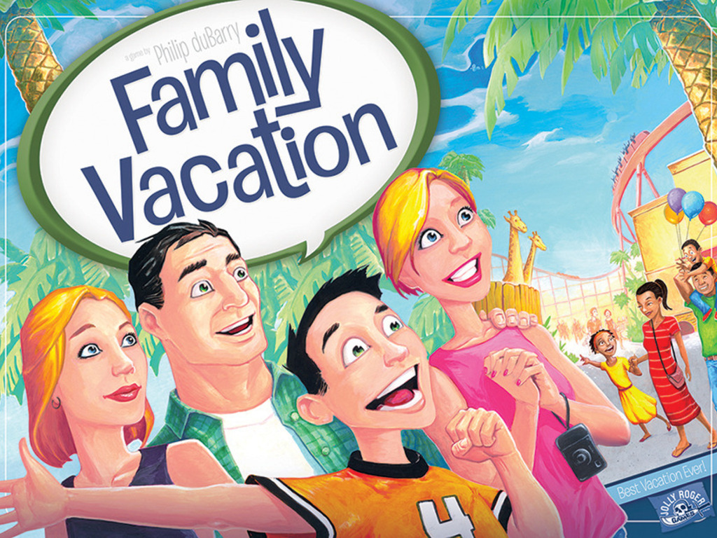 FAMILY VACATION: A Game by Philip duBarry's video poster